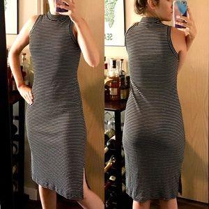 Slinky Madewell Sz Small striped midi dress